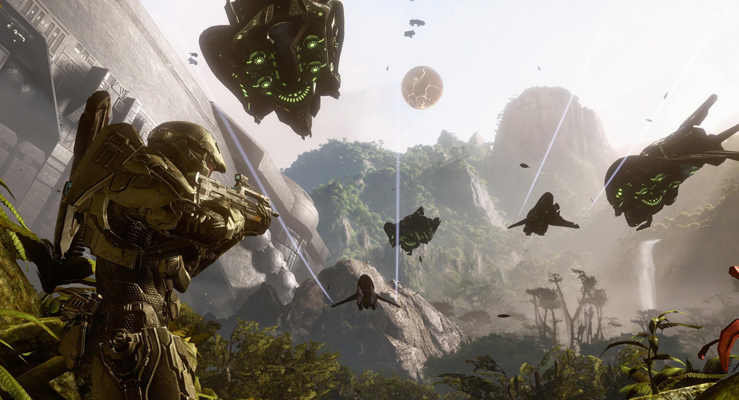 Halo je uvijek imao sjajan gameplay ali sada napokon ima i grafiku koja sve to prati (kliknite za veću sliku).