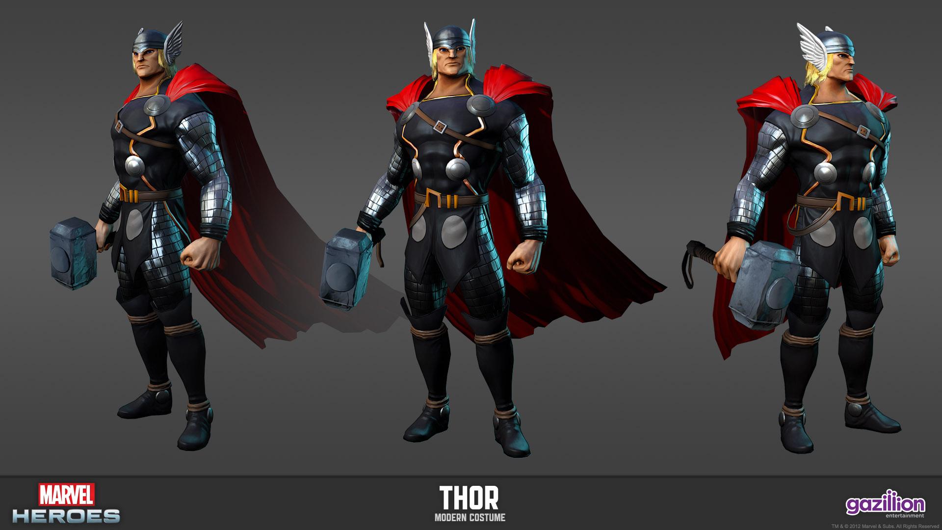 MarvelHeroes_ModelSheet_Thor_Modern