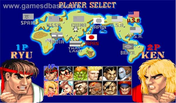Legendarni Street Fighter II je imao najviše naglašenu geografsku raspodjelu likova.