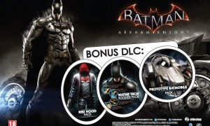 Batman Arkham Knight Special Edition DLC pack