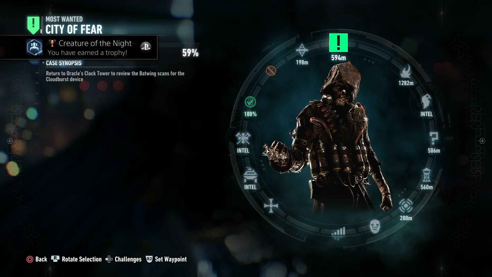 Broj misija je dostojan veličine Gothama koji vam je na raspolaganju