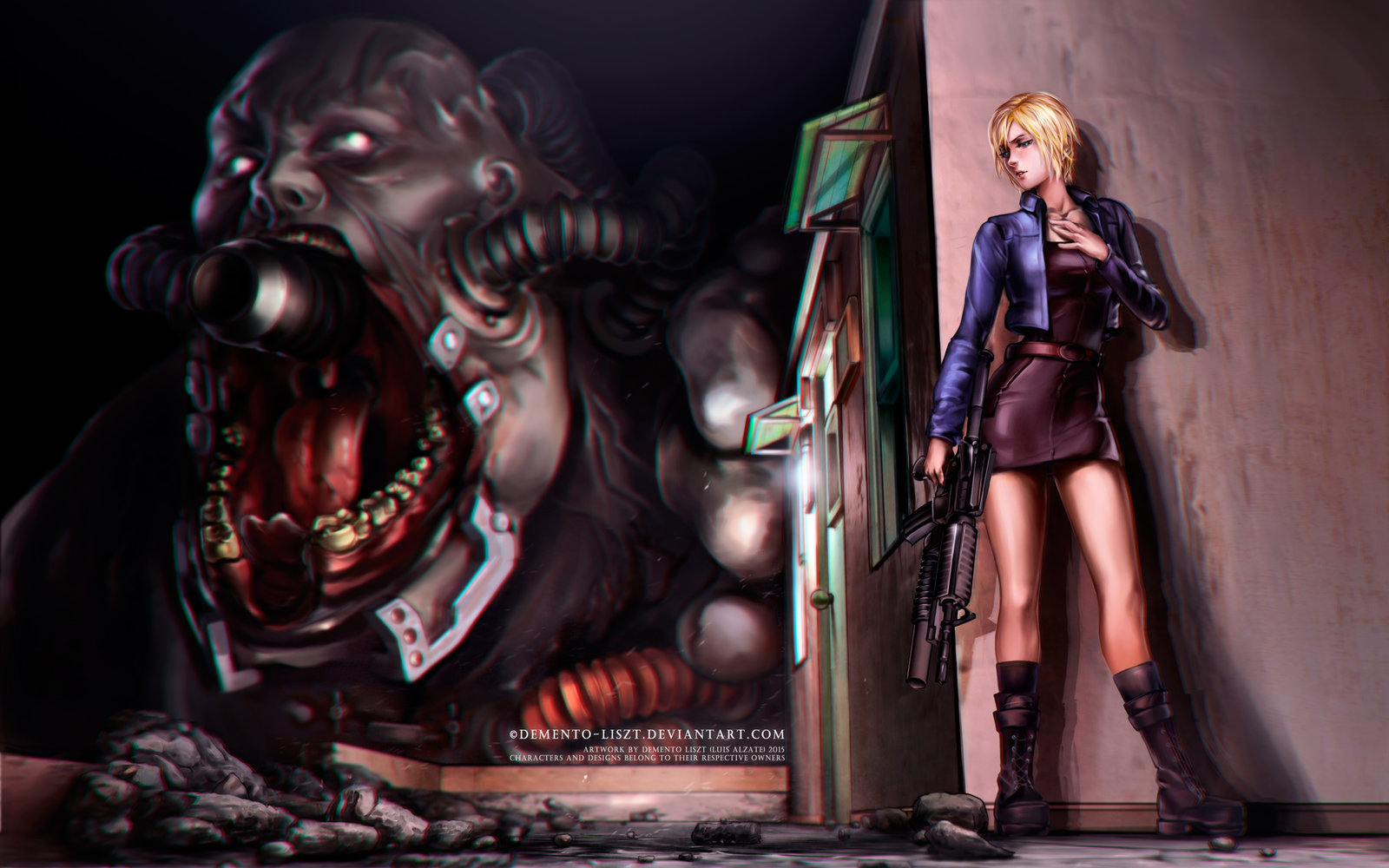 parasite_eve_2___battle_against_the_burner_by_demento_liszt-d8tddbn