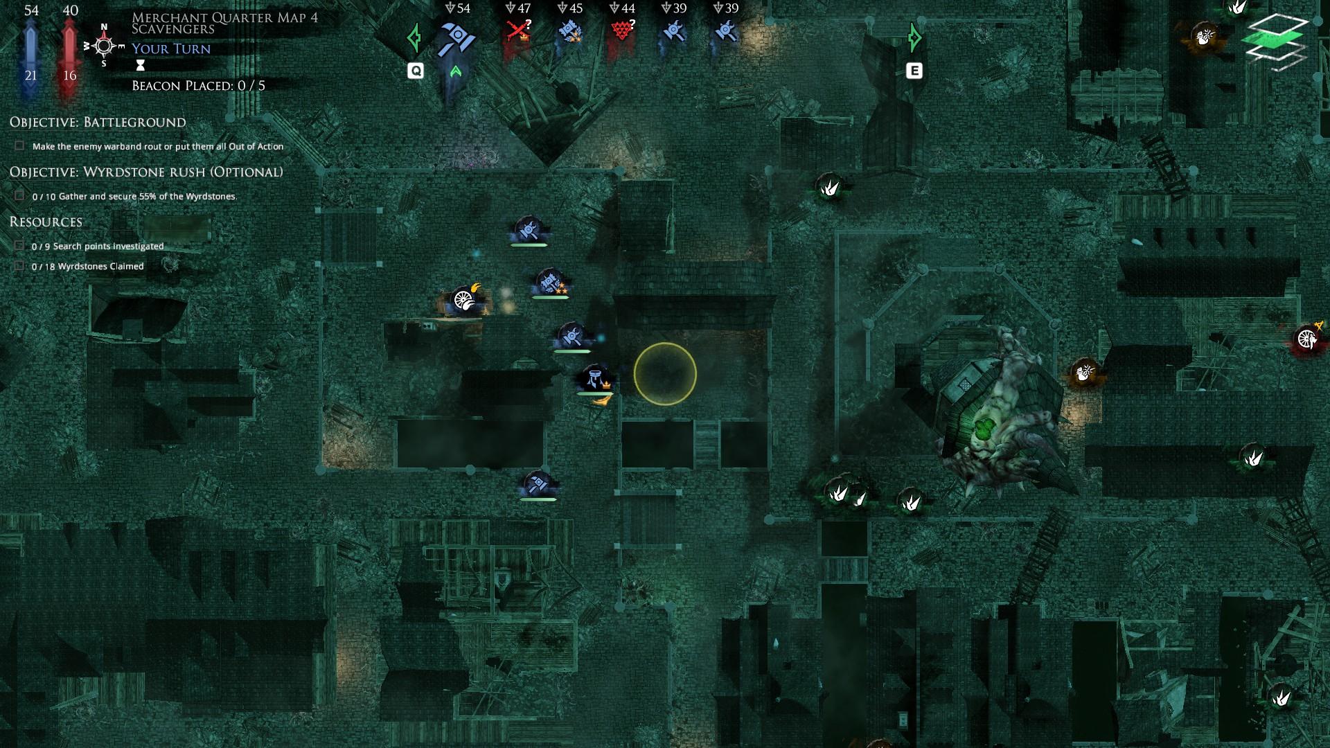 04 - Jot nismo vidjeli neprijatelja, stoga na mapi nema istih