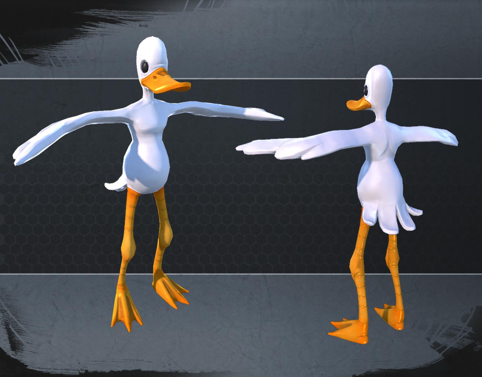 TimeSplitters duck