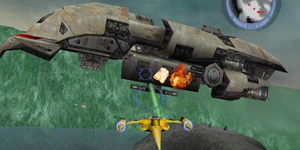Grafika na razini uspješnog i starijeg Rogue Squadrona.
