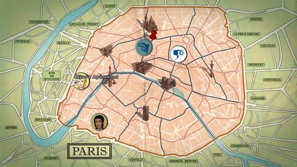 Ekipa skače po Londonu i Parizu, a unatoč unošenju mapa u igru, lutanja će biti svedena na minimum