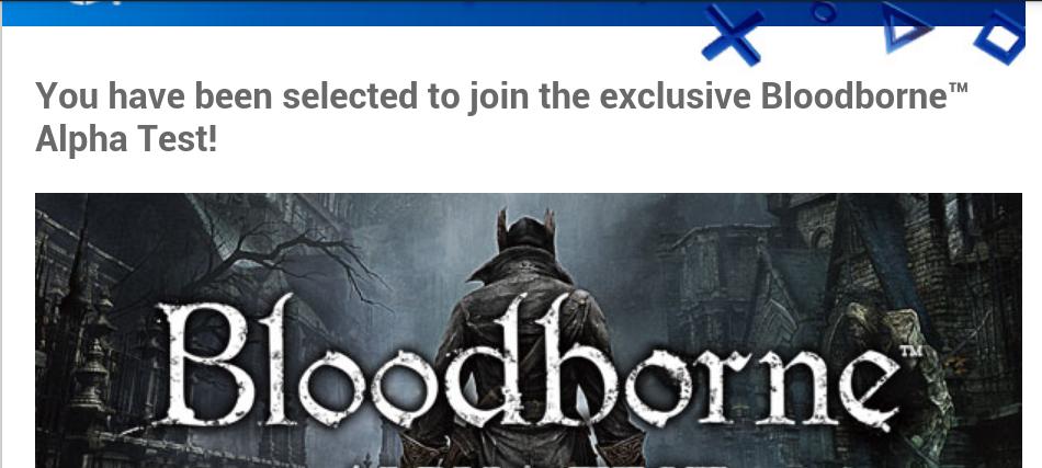 BloodBorne Beta