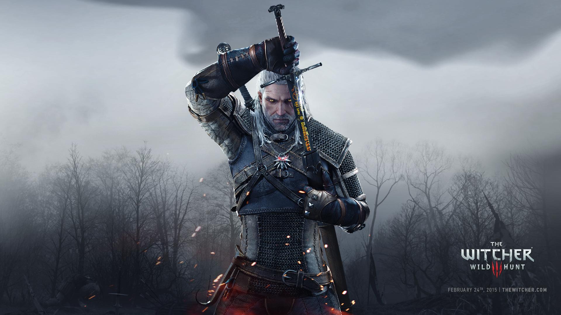Geralt ima velik mac 1920x1080