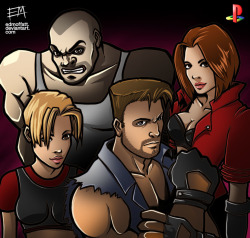 Fighting-Force-Characters-Playstation-Anniversary-Tribute-on-Game-Art-HQ