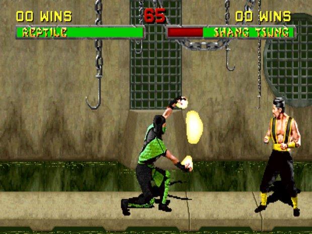 Tajni lik Reptile je postao igriv u drugom dijelu, kao i mlađa verzija Shang Tsunga