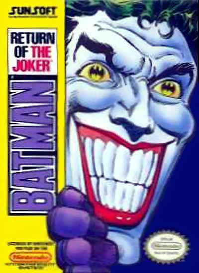 NES Batman Return of the Joker