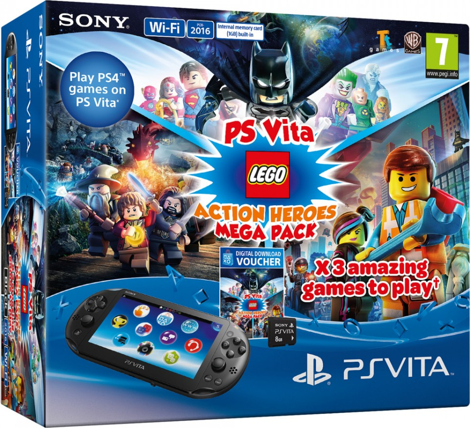 PS Vita Action Heroes Mega Pack