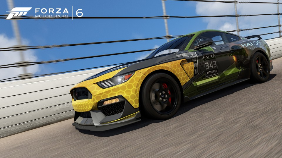 Master Chief Ford Shelby GT 350