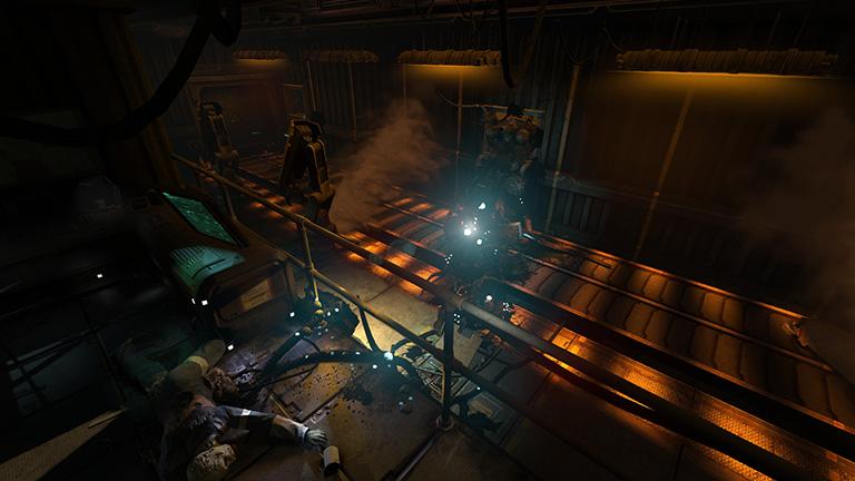 3- scena koja neodoljivo podsjeåa na jednu atmosferiƒnu igru, legendarni DOOM3